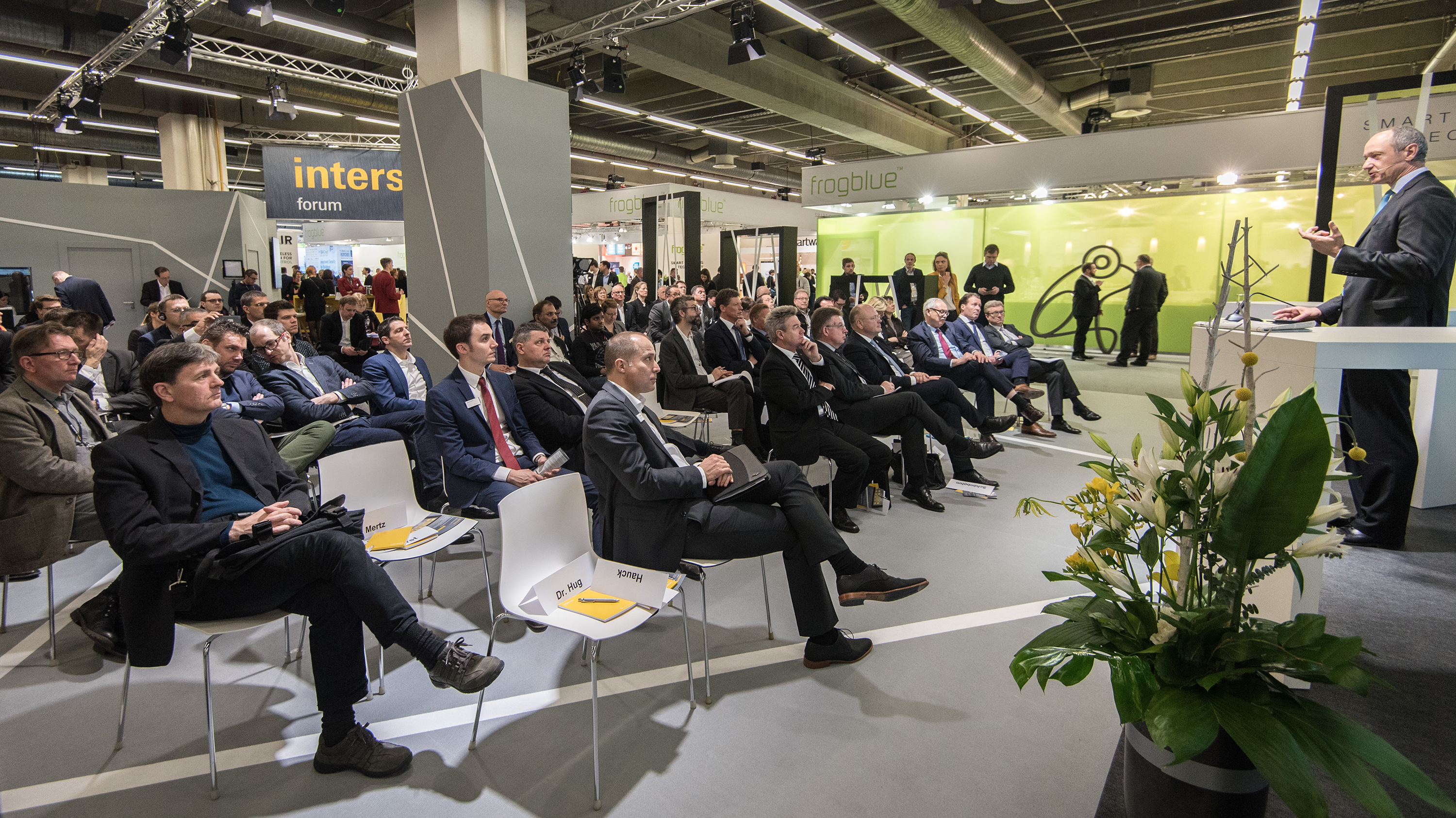 The Intersec Forum is the main information interface at Intersec Building (8 to 13 March 2020), the international platform for connected safety and security technology at Light + Building 2020. Source: Messe Frankfurt / Sandra Gätke